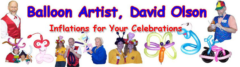 Balloon Artist David Olson – Minnesota